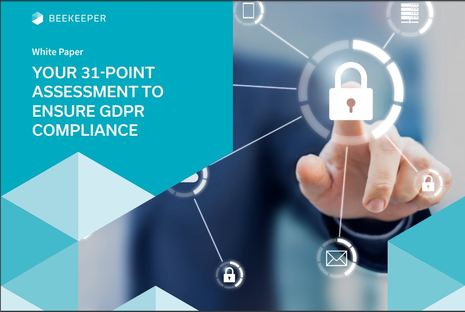 Beekeeper Offering 31 Point GDPR Assessment Checklist to Hoteliers Preparing for Compliance