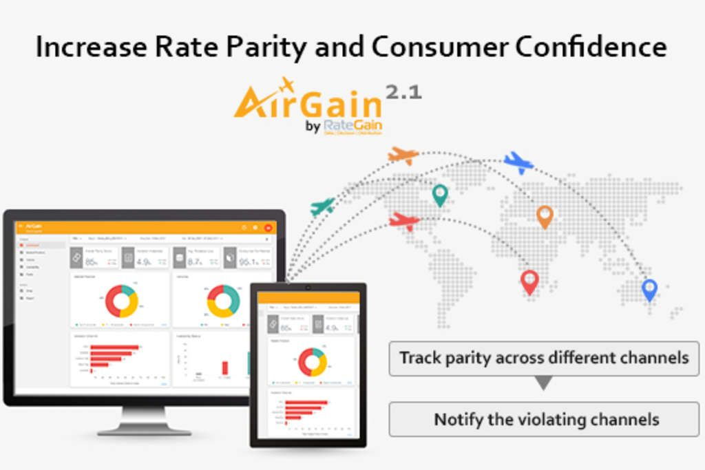AirGain to offer better control to Airlines on Rate Parity