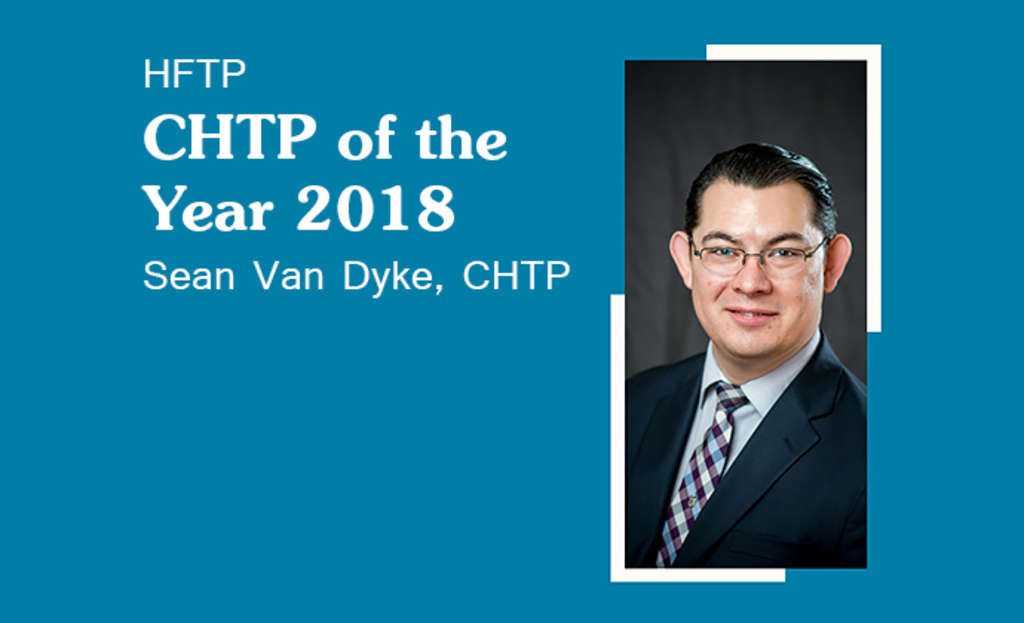 HFTP Announces 2018 CHTP of the Year Recipient
