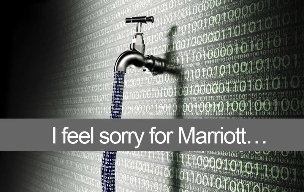 I feel sorry for Marriott…